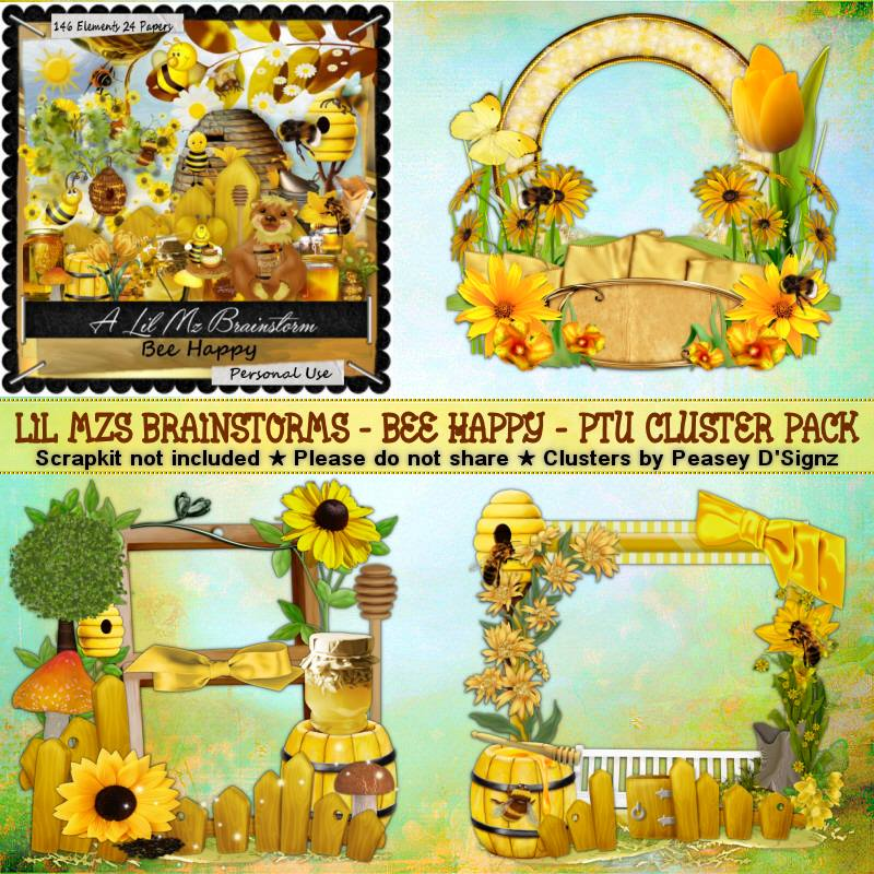 LMB Bee Happy Clusters 2 PU
