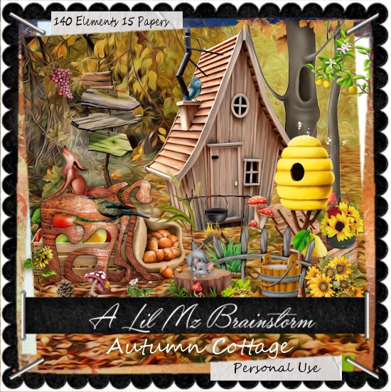 LMB Autumn Cottage PU