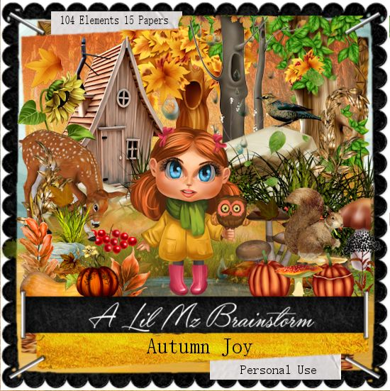 LMB Autumn Joy PU