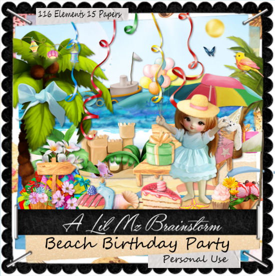 LMB Beach Birthday Party PU