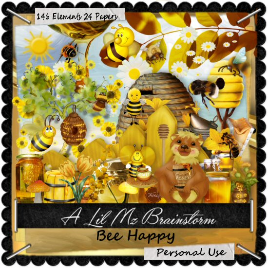LMB Bee Happy PU