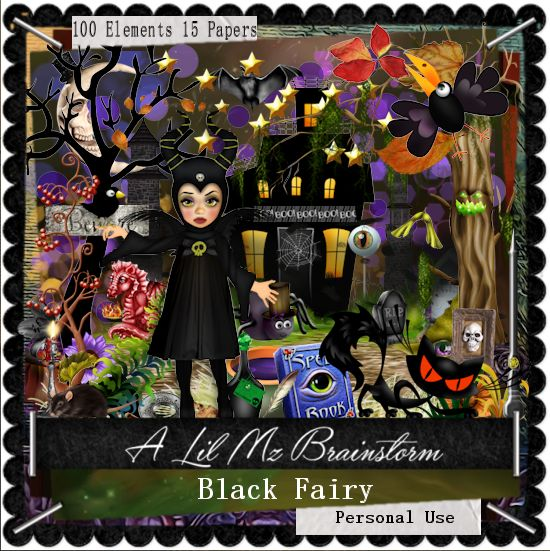 LMB Black Fairy PU