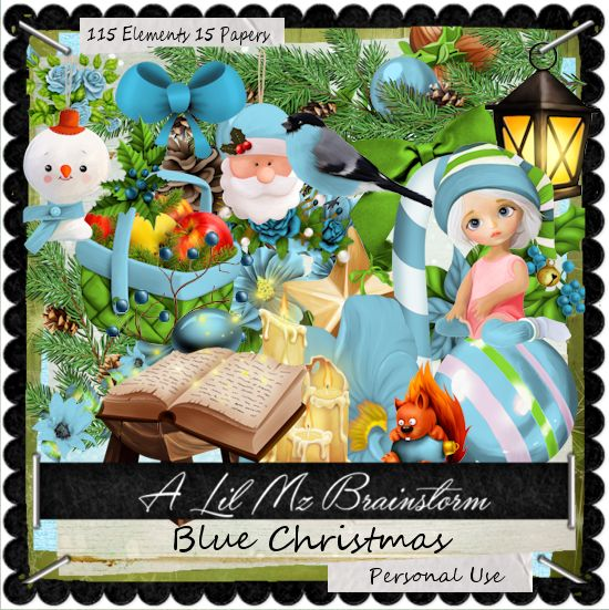 LMB Blue Christmas PU