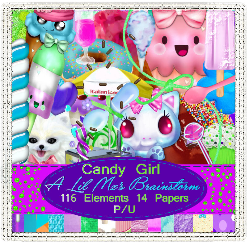 LMB Candy Girl PU