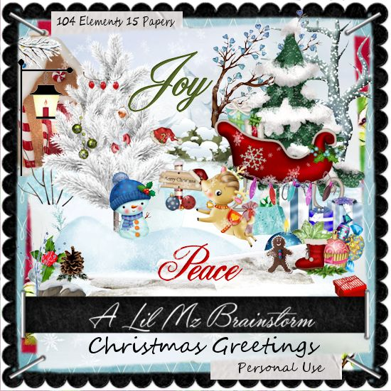 LMB Christmas Greetings PU