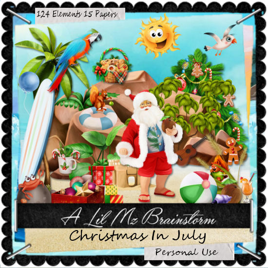 LMB Christmas In July PU