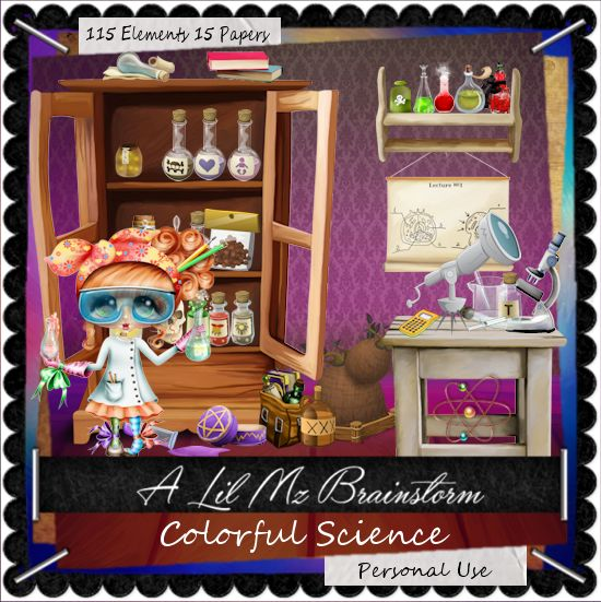 LMB Colorful Science PU