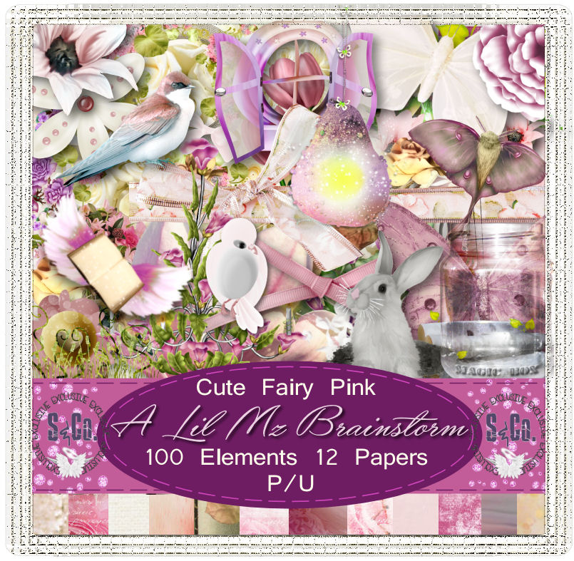 LMB Cute Fairy Pink PU