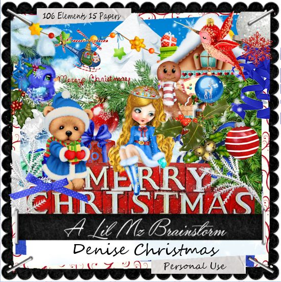LMB Denise Christmas PU