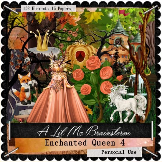 LMB Enchanted Queen 4 PU