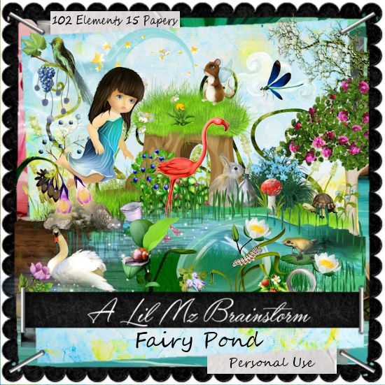 LMB Fairy Pond PU