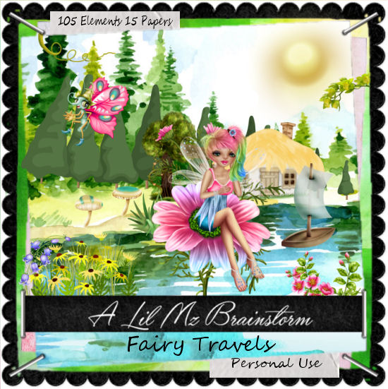 LMB Fairy Travels PU
