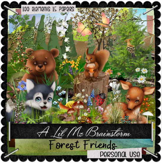 LMB Forest Friends PU