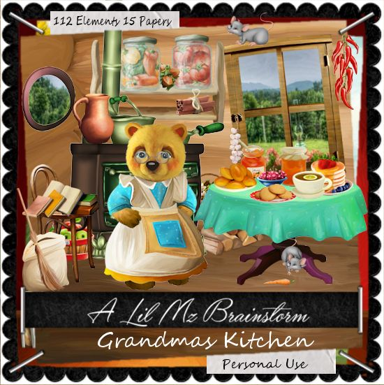 LMB Grandmas Kitchen PU