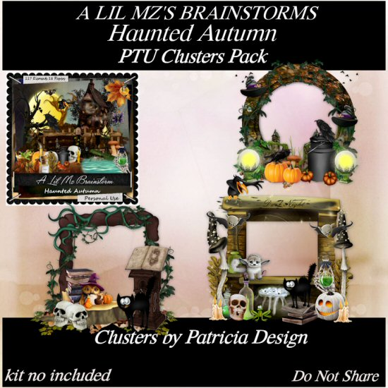 LMB Haunted Autumn Clusters 3 PU