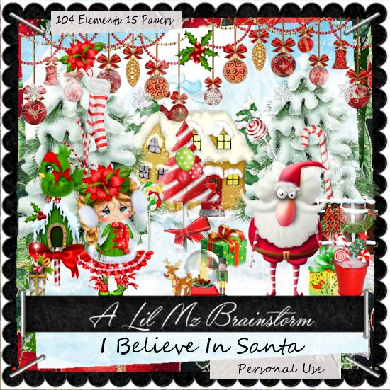 LMB I Believe In Santa PU
