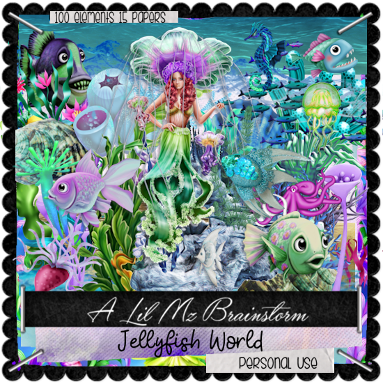 LMB Jellyfish World PU