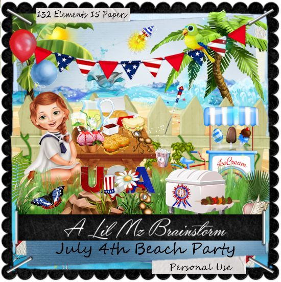 LMB July 4th Beach Party PU