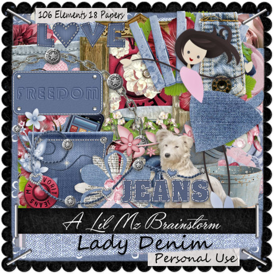 LMB Lady Denim PU