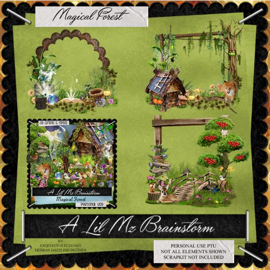 LMB Magical Forest Clusters PU