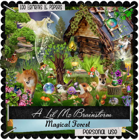 LMB Magical Forest PU