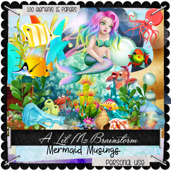 LMB Mermaid Musings PU