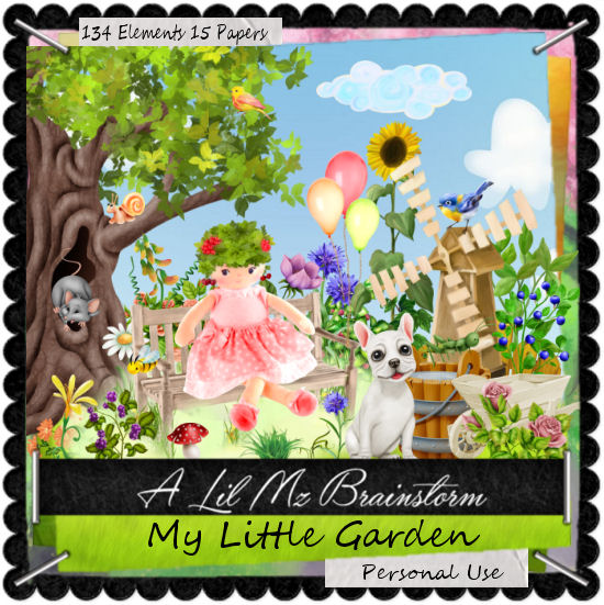 LMB My Little Garden PU