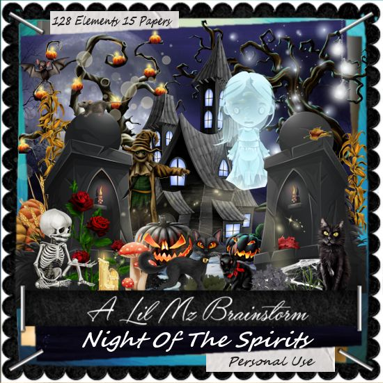 LMB Night OF The Spirits PU