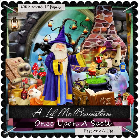 LMB Once Upon A Spell PU