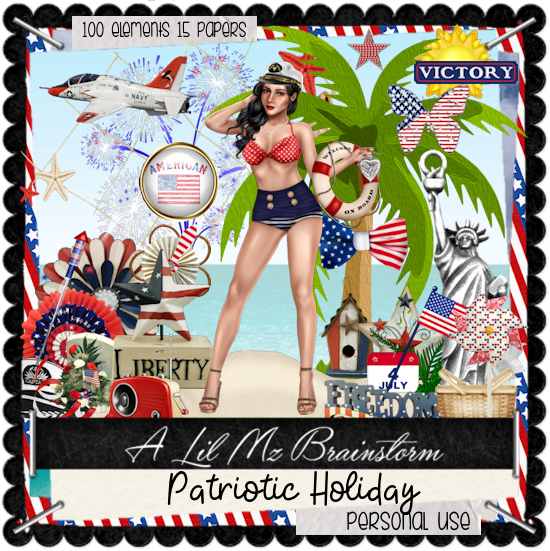 LMB Patriotic Holiday PU