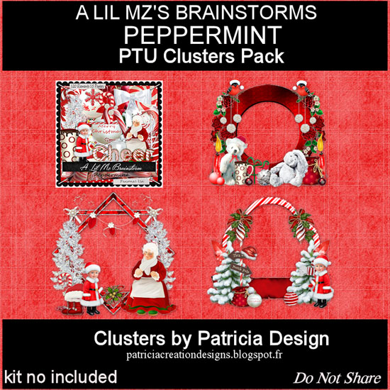 LMB Peppermint Clusters and Timeline Bundle PU