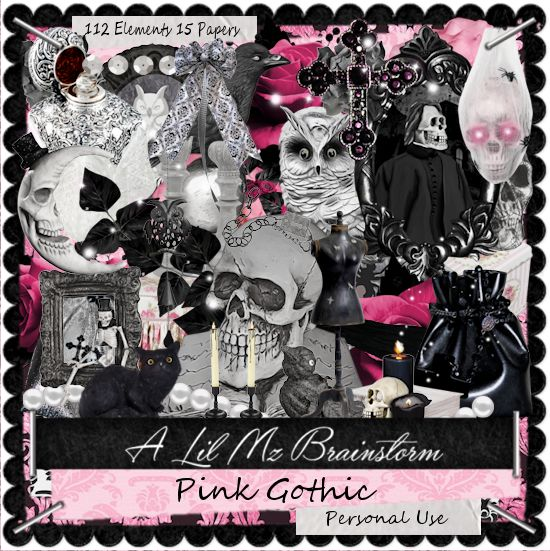 LMB Pink Gothic PU