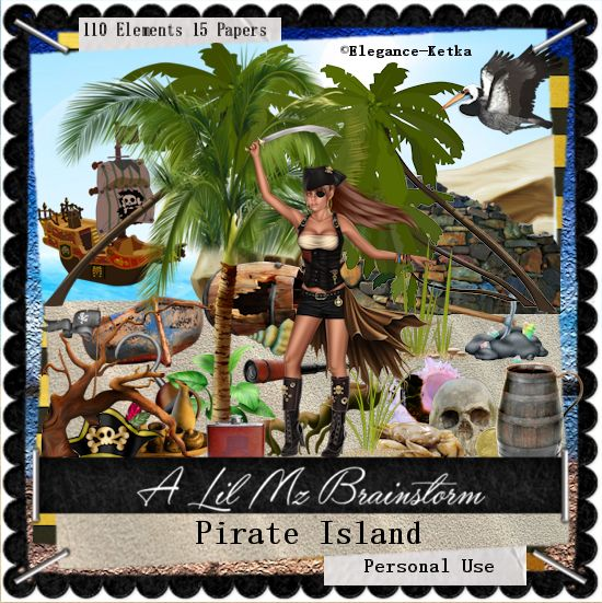 LMB Pirate Island PU