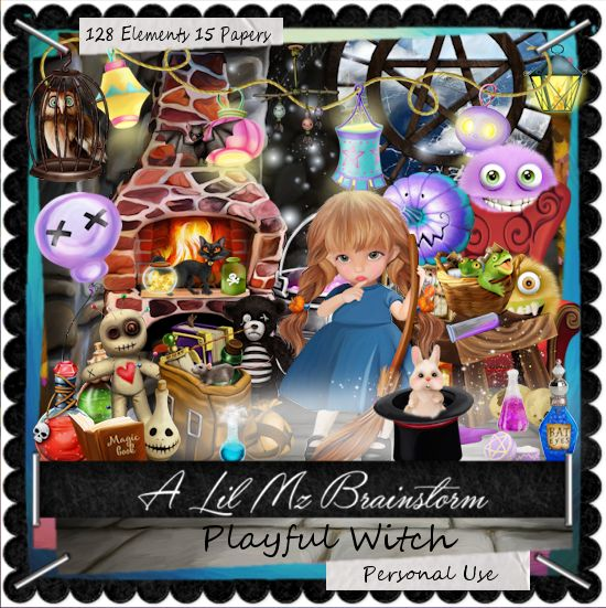 LMB Playful Witch PU