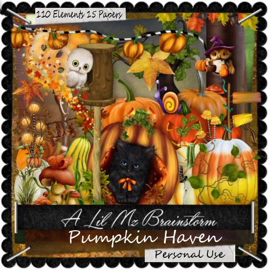 LMB Pumpkin Haven PU