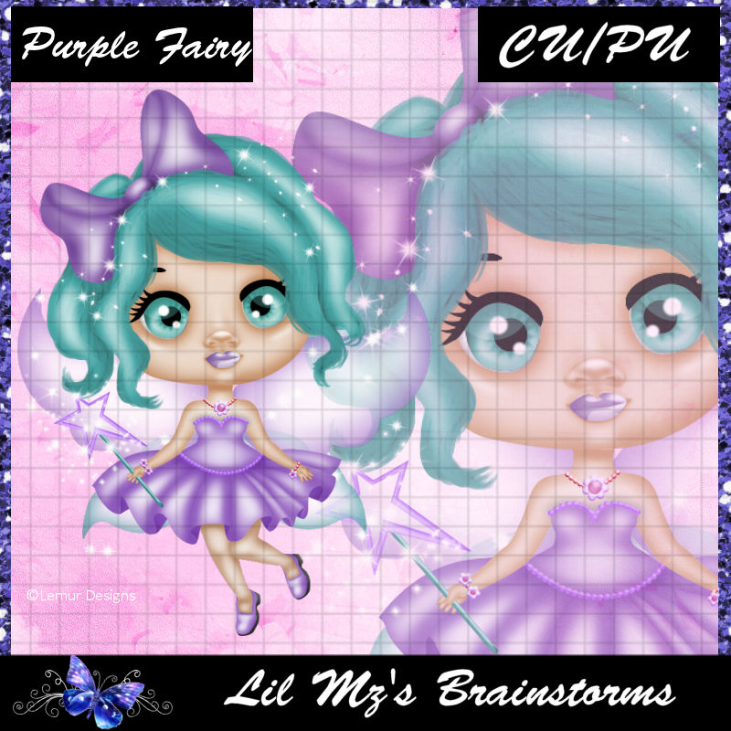 LMB Purple Fairy CU
