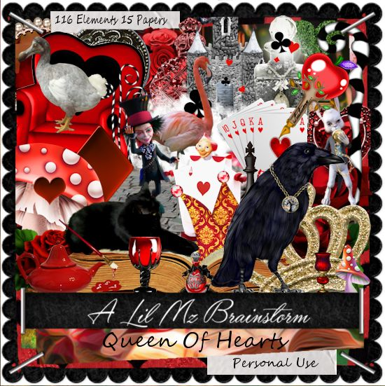 LMB Queen Of Hearts PU