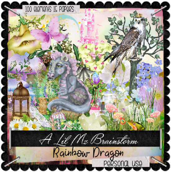 LMB Rainbow Dragon PU