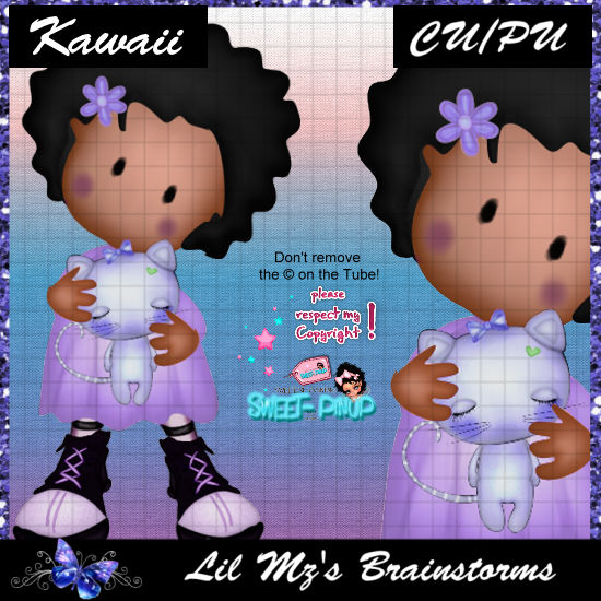 LMB Kawaii Purple CU
