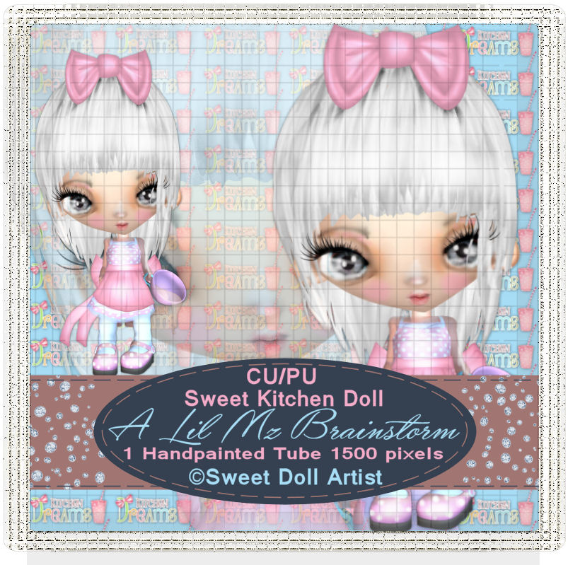 LMB Sweet Kitchen Doll CU