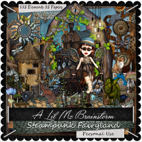 LMB Steampunk Fairyland PU