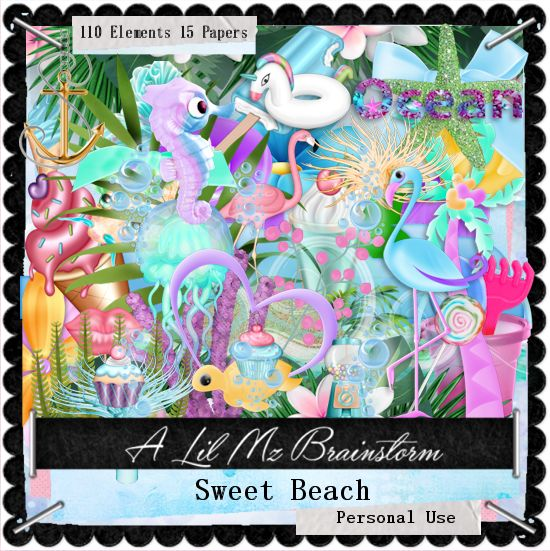 LMB Sweet Beach PU
