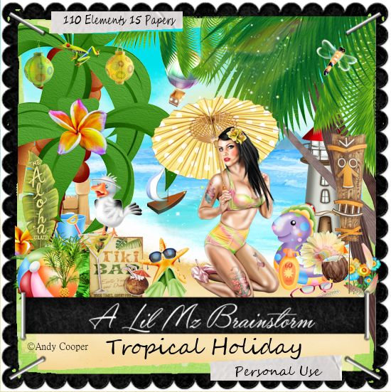 LMB Tropical Holiday PU