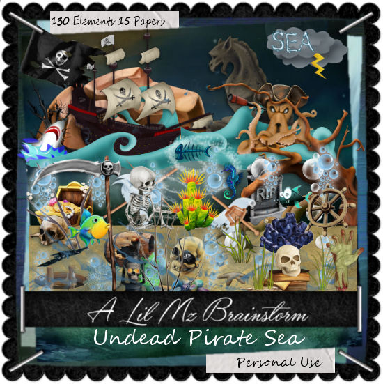 LMB Undead Pirate Sea PU