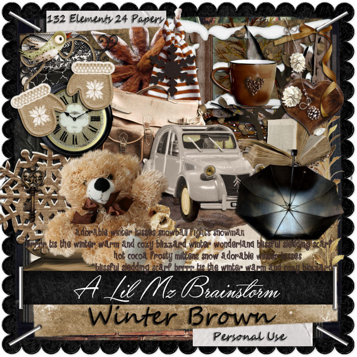 LMB Winter Brown PU