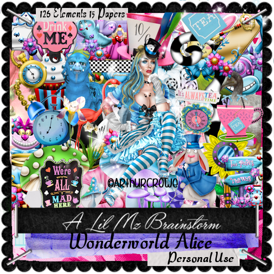 LMB Wonderworld Alice PU