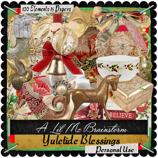LMB Yuletide Blessings PU