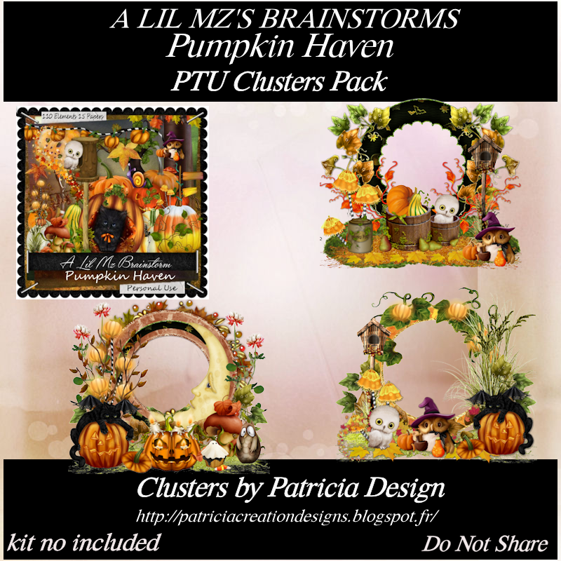 LMB Pumpkin Haven Clusters PU