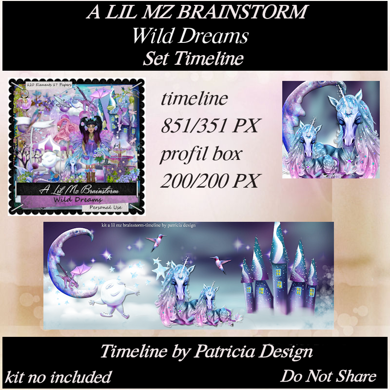 LMB Wild Dreams Timeline Set PU
